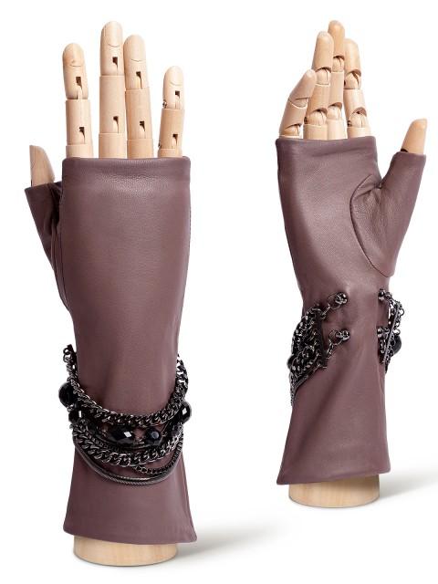 Перчатки без пальцев, митенки ELEGANZZA 02046shelk