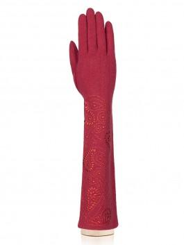 Длинные перчатки Labbra LB-PH-95L Бордовый фото №1 01-00020249