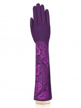 Длинные перчатки Labbra LB-PH-95L Фиолетовый фото №1 01-00020250