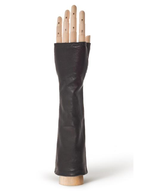 Длинные перчатки ELEGANZZA (Элеганза) 605shelk Черный фото №1 00116515