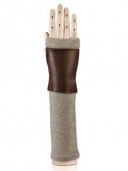 Длинные перчатки ELEGANZZA (Элеганза) 12600 Коричневый фото №1 01-00015905