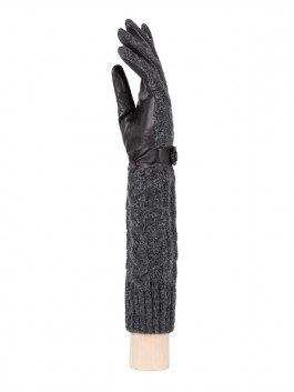 Длинные перчатки Labbra LB-02073 Черный фото №2 01-00004504