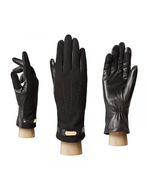 Классические перчатки ELEGANZZA (Элеганза) HP09123sherstkashemir Черный фото №1 00113226