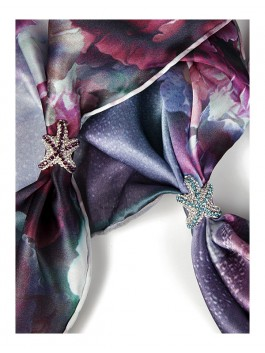 Бижутерия для платков ELEGANZZA (Элеганза) X1934 Розовый фото №2 01-00009111
