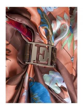 Бижутерия для платков ELEGANZZA (Элеганза) 28A-F1002-1 Коричневый фото №2 01-00013207