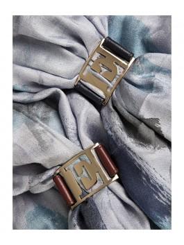 Бижутерия для платков ELEGANZZA (Элеганза) 28A-F1002-2 Коричневый фото №2 01-00013209