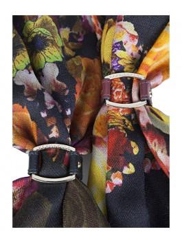 Бижутерия для платков ELEGANZZA (Элеганза) 28A-F1003-3 Черный фото №2 01-00012946