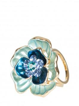 Бижутерия для платков ELEGANZZA (Элеганза) R622 Синий фото №1 01-00023935