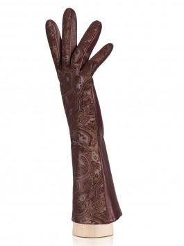 Fashion перчатки ELEGANZZA (Элеганза) IS00148 Бордовый фото №2 01-00023451