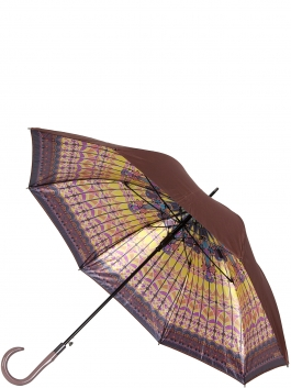 Зонт-трость ELEGANZZA (Элеганза) T-06-0358D Желтый фото №1 01-00025102