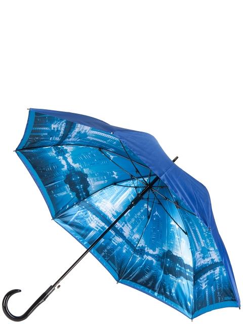Зонт-трость ELEGANZZA (Элеганза) T-06-0348D Синий фото №1 01-00025094