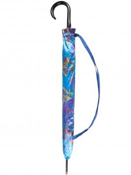 Зонт-трость ELEGANZZA (Элеганза) T-06-0349D Синий фото №2 01-00025095