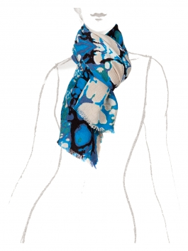 Палантин Labbra LBL33-290 Синий фото №2 01-00020908