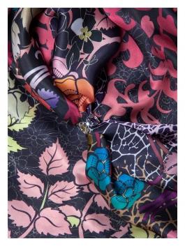 Бижутерия для платков ELEGANZZA (Элеганза) R542 Серебряный фото №3 01-00020785