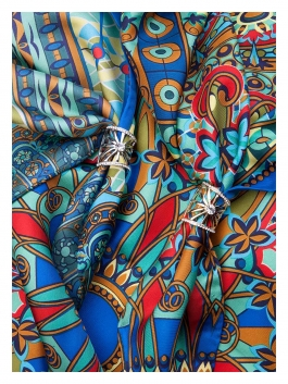 Бижутерия для платков ELEGANZZA (Элеганза) R620 Черный фото №2 01-00023932