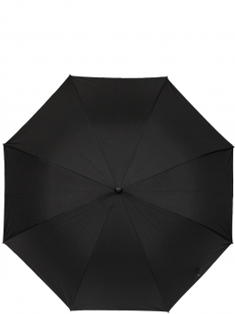 Зонт-трость ELEGANZZA (Элеганза) T-05-0450D Черный фото №2 01-00026853