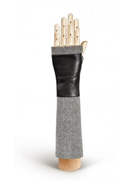 Длинные перчатки ELEGANZZA (Элеганза) 12600100kashemir Черный фото №1 00117152