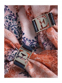 Бижутерия для платков ELEGANZZA (Элеганза) 28A-F1002 Черный фото №2 01-00013221