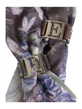 Бижутерия для платков ELEGANZZA (Элеганза) 28A-F1002 Темно-серый фото №2 01-00013201