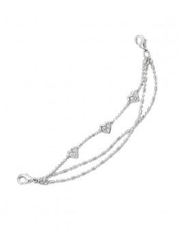 Браслет для перчаток ELEGANZZA (Элеганза) BRSN-022 Серебряный фото №1 01-00012768