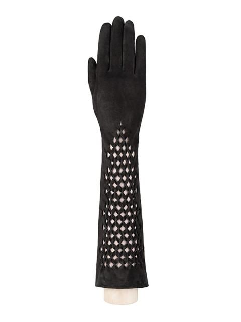 Длинные перчатки ELEGANZZA (Элеганза) F-IS0071 Черный фото №1 01-00005248