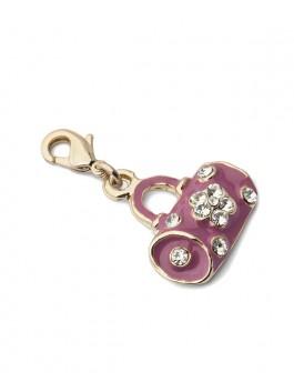 Кулон для перчаток ELEGANZZA (Элеганза) KLLG-110 Розовый фото №1 01-00012748