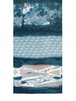 Палантин Labbra LSZ33-788 Голубой фото №2 01-00027600