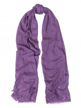 Палантин ELEGANZZA (Элеганза) WF42-0652 Фиолетовый фото №1 01-00027635