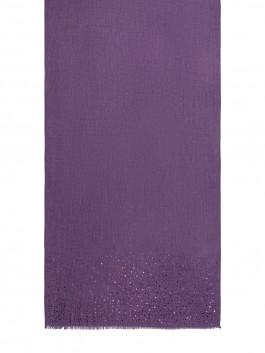 Палантин ELEGANZZA (Элеганза) WF42-0652 Фиолетовый фото №2 01-00027635