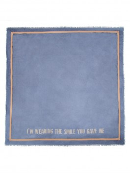 Платок ELEGANZZA (Элеганза) MX66-0935 Синий фото №2 01-00028459