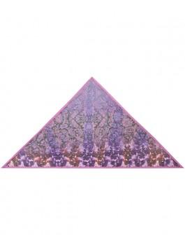 Платок ELEGANZZA (Элеганза) D12-1180 Бордовый фото №1 01-00014957