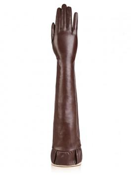Длинные перчатки ELEGANZZA (Элеганза) F-IS8008shelk Коричневый фото №1 01-00010680