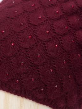 Шапки Labbra LB-D77015 Бордовый фото №3 01-00028243
