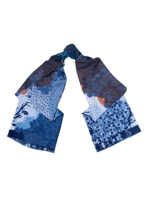 Палантин Labbra LSZ33-787 Синий фото №1 01-00027595