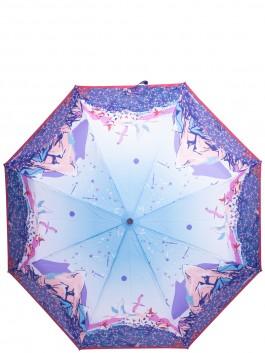 Зонт-автомат ELEGANZZA (Элеганза) A3-05-0466LS Фиолетовый фото №1 01-00029165