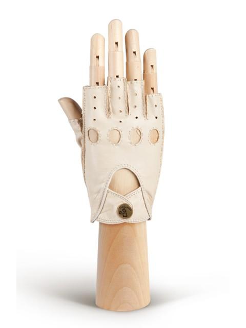 Автомобильные перчатки ELEGANZZA (Элеганза) HS012Wbezpodkladki Бежевый фото №1 00115098
