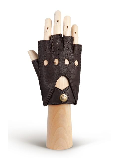 Автомобильные перчатки ELEGANZZA (Элеганза) HS102Wbezpodkladki Коричневый фото №1 00115848