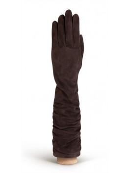 Длинные перчатки ELEGANZZA (Элеганза) IS02010shelk Коричневый фото №1 00115513