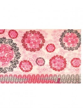 Палантин ELEGANZZA (Элеганза) J45-13417 Розовый фото №1 01-00010921