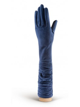 Длинные перчатки ELEGANZZA (Элеганза) IS02010sherstkashemir Голубой фото №1 00113357