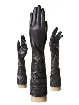 Длинные перчатки ELEGANZZA (Элеганза) IS08002shelk Черный фото №1 00109662