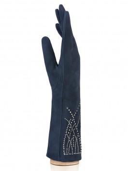 Длинные перчатки ELEGANZZA (Элеганза) IS20010 Синий фото №2 01-00015873