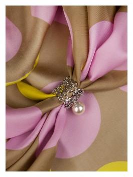 Бижутерия для платков ELEGANZZA (Элеганза) R473 Желтый фото №2 01-00014164