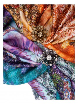 Бижутерия для платков ELEGANZZA (Элеганза) R510 Золотой фото №2 01-00017739
