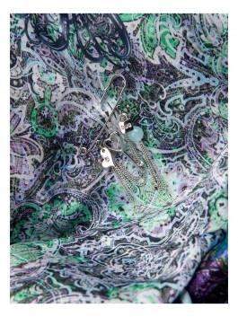 Бижутерия для платков ELEGANZZA (Элеганза) R517 Золотой фото №2 01-00017743