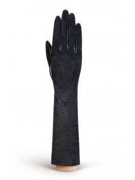 Длинные перчатки ELEGANZZA (Элеганза) IS5003shelk Черный фото №1 01-00004211